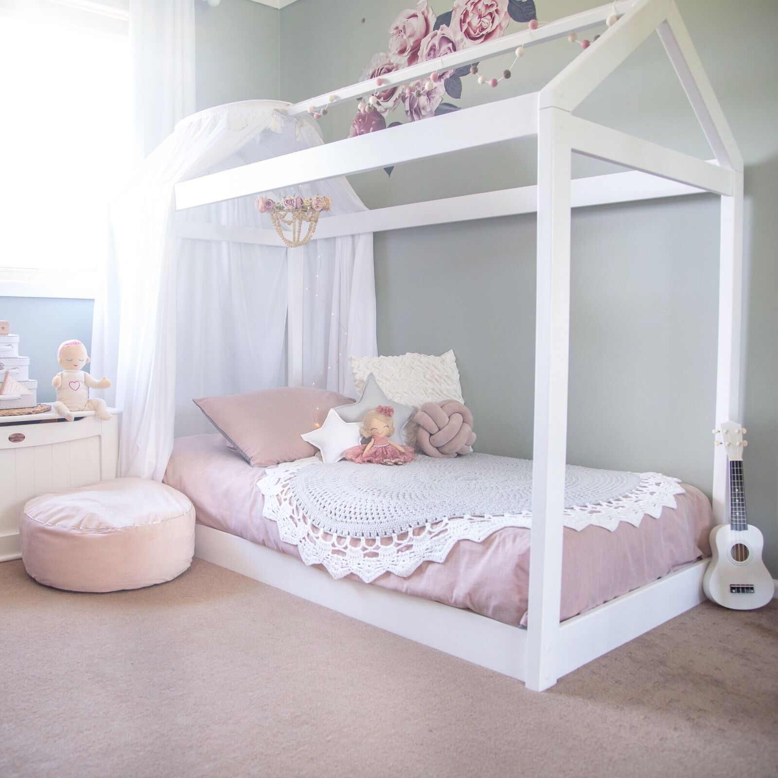 Cubby House Bed Single