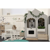 Remi Indoor Cubby House - Grey