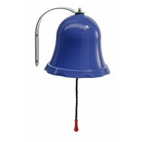 Kids Plastic Bell - Blue