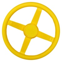 Plastic Steering Wheel - Multiple Colours