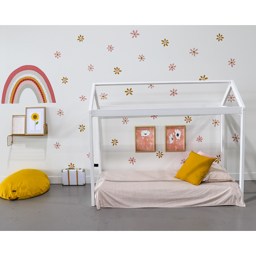 Cubby House Bed - Double [Colour: White]